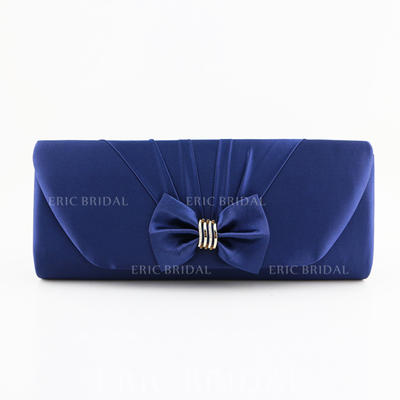 """Clutches Satin Magnetic Closure Gorgeous 10.24""""(Approx.26cm) Clutches & Evening Bags (012185786)"""