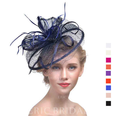 Cambric With Feather Fascinators Classic Ladies' Hats (196194668)
