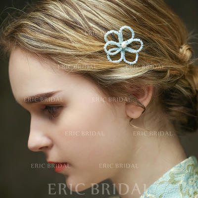 """Hairpins Special Occasion/Casual/Outdoor/Art photography 2.76""""(Approx.7cm) 1.97""""(Approx.5cm) Simple Headpieces (042156686)"""