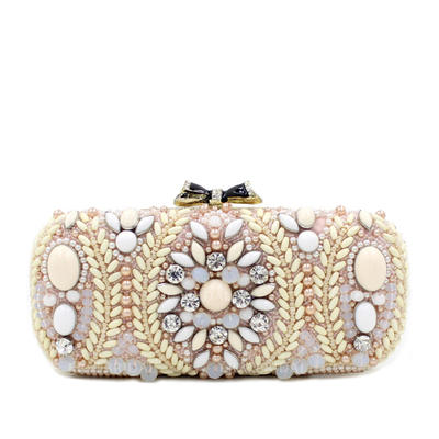 Clutches Wedding Composites Magnetic Closure Gorgeous Clutches & Evening Bags (012187002)