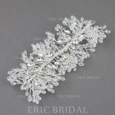"""Headbands Wedding/Special Occasion/Casual/Outdoor/Party Crystal/Alloy 5.71""""(Approx.14.5cm) 2.76""""(Approx.7cm) Headpieces (042155743)"""