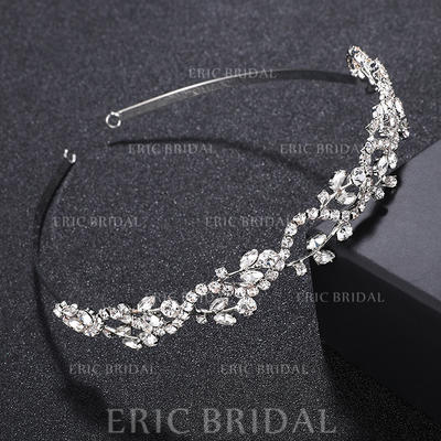 """Tiaras/Headbands Wedding/Special Occasion/Party Alloy 4.92""""(Approx.12.5cm) 0.67""""(Approx.1.7cm) Headpieces (042156911)"""