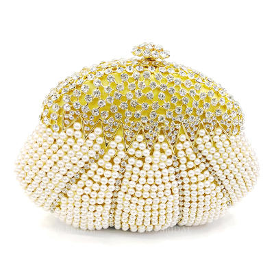 "Clutches/Luxury Clutches Wedding/Ceremony & Party Alloy 6.89""(Approx.17.5cm) 1.77"" (Approx.4.5cm) Clutches & Evening Bags (012186132)"