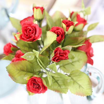 "Bridesmaid Bouquets/Decorations Free-Form Wedding Fabric 13.78""(Approx.35cm) Wedding Flowers (123189966)"