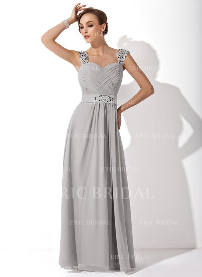 A-Line/Princess Sweetheart Floor-Length Mother of the Bride Dresses With Ruffle Beading (008006313)