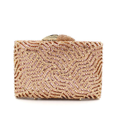 "Clutches/Satchel Wedding/Ceremony & Party Alloy Shining 6.3""(Approx.16cm) Clutches & Evening Bags (012187306)"