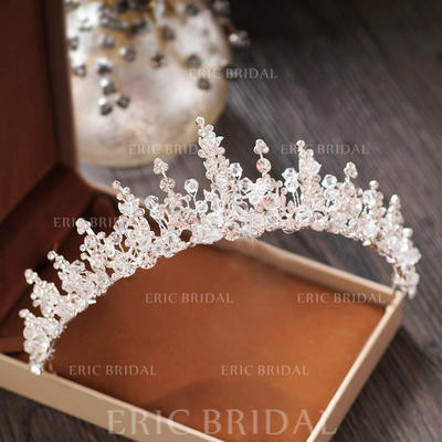 "Tiaras Wedding/Special Occasion/Party Crystal/Rhinestone/Alloy 2.17""(Approx.5.5cm) 5.51""(Approx.14cm) Headpieces (042158939)"