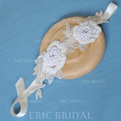 "Headbands Wedding/Special Occasion Satin 11.02""(Approx.28cm) 3.94""(Approx.10cm) Headpieces (042159209)"