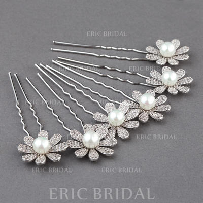 "Hairpins Wedding/Special Occasion Zircon 0.98""(Approx.2.5cm) 2.95""(Approx.7.5cm) Headpieces (042156009)"