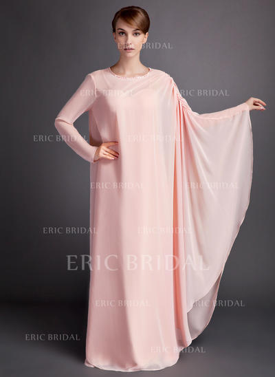 A-Line/Princess Sweetheart Floor-Length Mother of the Bride Dresses With Ruffle (008211191)