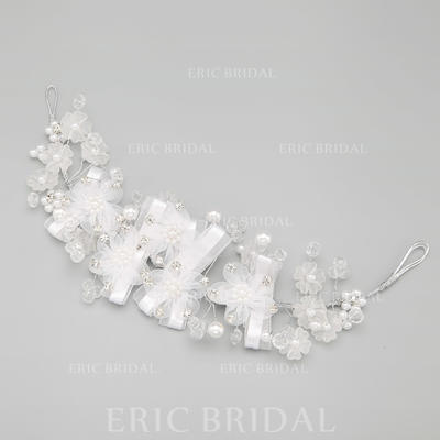 "Headbands Wedding/Special Occasion/Party Alloy/Imitation Pearls 11.02""(Approx.28cm) 2.76""(Approx.7cm) Headpieces (042154837)"