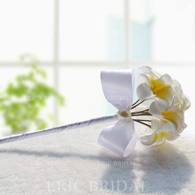 "Bridesmaid Bouquets Wedding Foam/Ribbon 11.8""(Approx.30cm) Due to it is handmade/ slight difference is unavoidable. Wedding Flowers (123189019)"