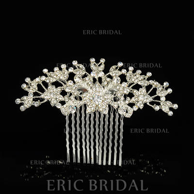 """Combs & Barrettes Wedding/Special Occasion Alloy 3.74""""(Approx.9.5cm) 2.36""""(Approx.6cm) Headpieces (042156341)"""