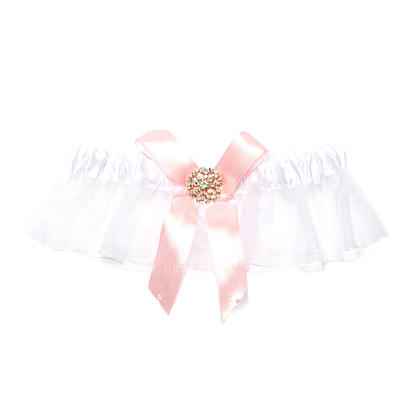 Garters Women Wedding/Special Occasion Organza With Rhinestone Garter (104195944)