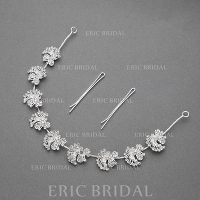 """Headbands Wedding/Special Occasion/Party Rhinestone/Alloy 11.42""""(Approx.29cm) 0.71""""(Approx.1.8cm) Headpieces (042154269)"""