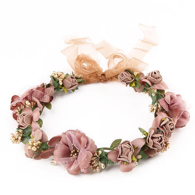 "Headbands Wedding/Outdoor/Party/Art photography Polyester 9.45""(Approx.24cm) 9.45 ""(Approx.24cm) Headpieces (042158696)"