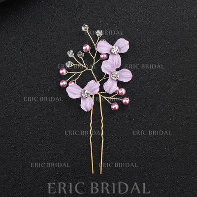 Hairpins/Scarf Wedding Alloy Elegant (Sold in single piece) Headpieces (042159066)
