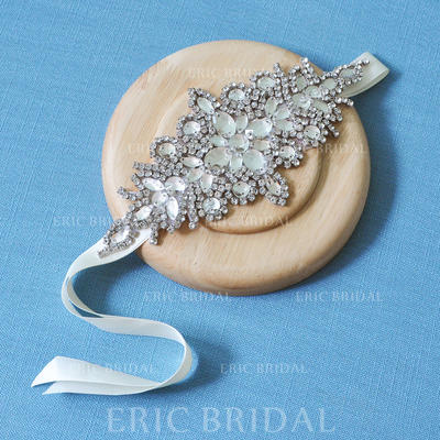 """Headbands Wedding/Special Occasion Satin 9.06""""(Approx.23cm) 3.55""""(Approx.9cm) Headpieces (042159179)"""