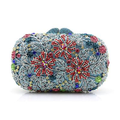 Clutches/Wristlets Wedding/Ceremony & Party Acrylic/PU Clip Closure Gorgeous Clutches & Evening Bags (012186549)