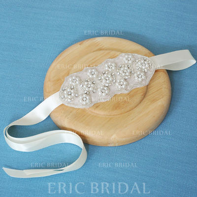 """Headbands Wedding/Special Occasion Satin 5.12""""(Approx.13cm) 2.17""""(Approx.5.5cm) Headpieces (042159211)"""
