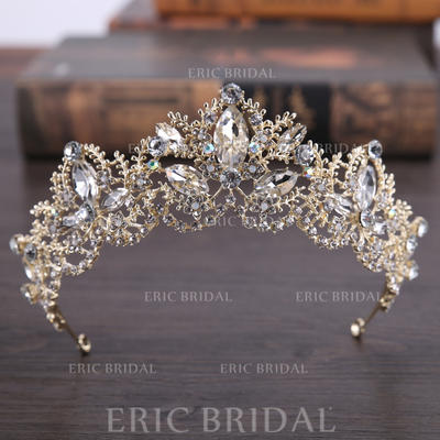 "Tiaras Wedding/Party Rhinestone/Alloy 5.53""(Approx.14cm) 2.17""(Approx.5.5cm) Headpieces (042158735)"