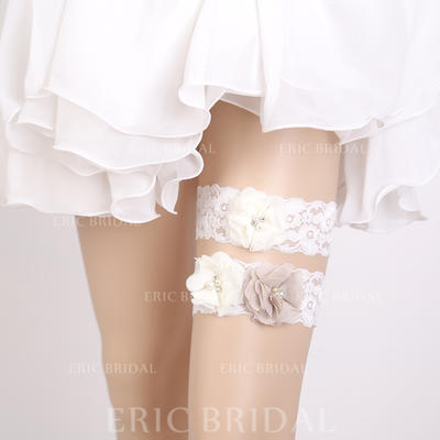 Garters Women/Bridal Wedding/Special Occasion Lace With Flower Garter (104196592)