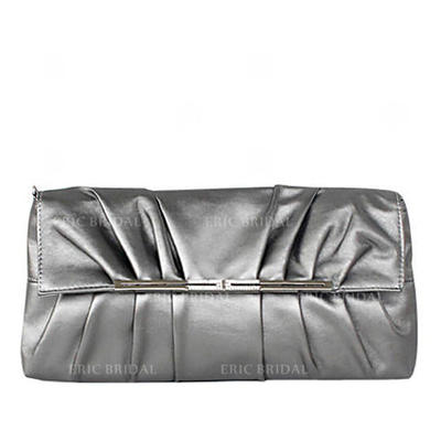 Clutches Ceremony & Party PU Magnetic Closure Elegant Clutches & Evening Bags (012184155)