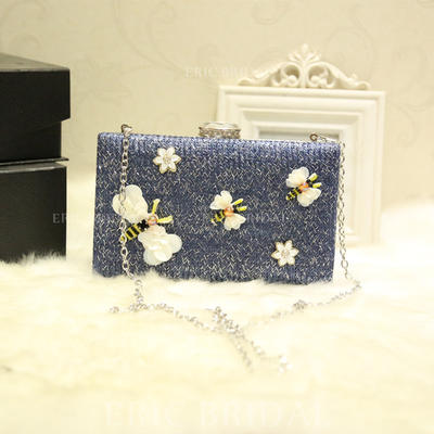 "Clutches Wedding/Ceremony & Party Alloy Delicate 7.87""(Approx.20cm) Clutches & Evening Bags (012187144)"