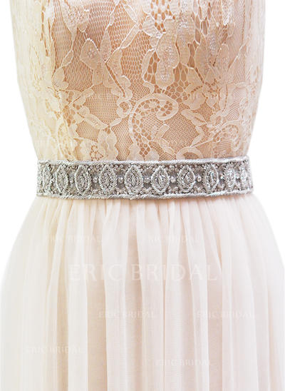Women Ribbon With Rhinestones Sash Fashional Sashes & Belts (015191217)