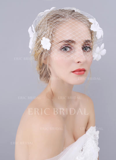 Blusher Veils Tulle One-tier Classic With Cut Edge Wedding Veils (006152015)