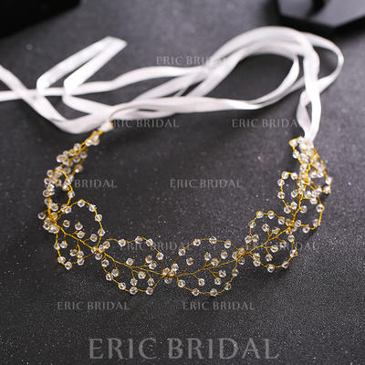 """Headbands Wedding/Special Occasion Crystal/Alloy 14.57 """"(Approx.37cm) 1.57""""(Approx.4cm) Headpieces (042158677)"""