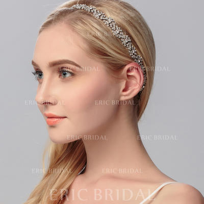 """Headbands Wedding/Special Occasion/Party Rhinestone 9.84""""(Approx.25cm) 0.59""""(Approx.1.5cm) Headpieces (042156552)"""