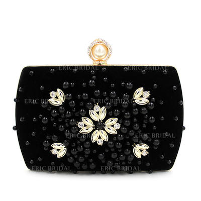 Clutches Ceremony & Party Composites Magnetic Closure Gorgeous Clutches & Evening Bags (012186997)