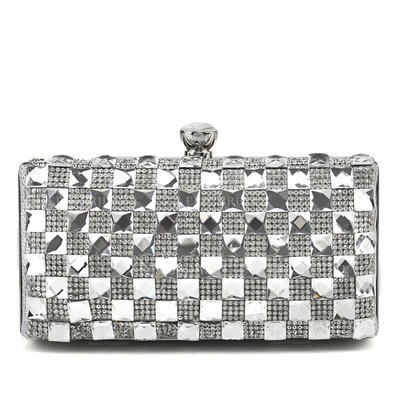 """Clutches Wedding/Ceremony & Party Clip Closure Elegant 6.3""""(Approx.16cm) Clutches & Evening Bags (012184951)"""