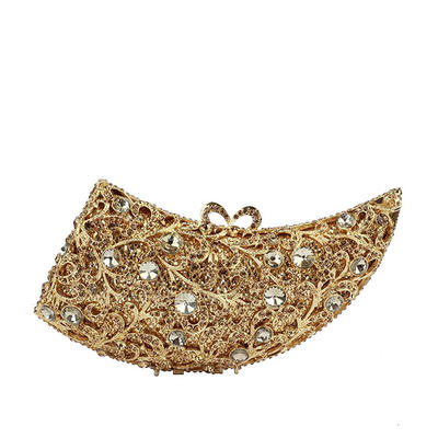 Clutches/Luxury Clutches Wedding/Ceremony & Party Crystal/ Rhinestone/Alloy Gorgeous Clutches & Evening Bags (012187406)