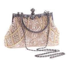 Totes Wedding/Ceremony & Party Acrylic/Beading Kiss lock closure Fashional Clutches & Evening Bags