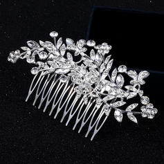 """Combs & Barrettes Alloy 4.53""""(Approx.11.5cm) 2.36""""(Approx.6cm) Rhinestone Headpieces"""