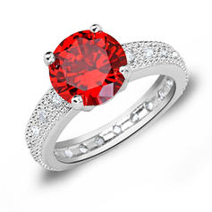 Rings Zircon/Platinum Plated Ladies' Beautiful Wedding & Party Jewelry