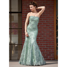 Trumpet/Mermaid Sweetheart Floor-Length Mother of the Bride Dresses With Beading Sequins (008211465)