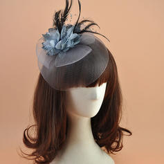 Polyester With Feather Fascinators Elegant Ladies' Hats