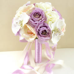 "Bridal Bouquets Wedding/Party Artificial Silk 9.49""(Approx.24cm) Romantic Wedding Flowers"