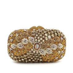 """Clutches/Luxury Clutches Wedding/Ceremony & Party Crystal/ Rhinestone Pillow bag 6.69""""(Approx.17cm) Clutches & Evening Bags"""