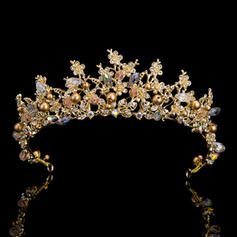 "Tiaras Wedding/Special Occasion/Party Rhinestone 14.57 ""(Approx.37cm) 1.97""(Approx.5cm) Headpieces"