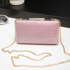 Clutches Wedding/Ceremony & Party PVC Push-lock frame closure Fashional Clutches & Evening Bags