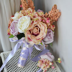 "Bridal Bouquets Free-Form Wedding Satin 8.66"" (Approx.22cm) Wedding Flowers"