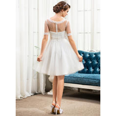 50's style tea length wedding dresses