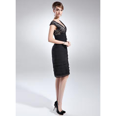 womens cocktail dresses with sleeves plus size