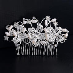 "Combs & Barrettes Wedding/Special Occasion Rhinestone/Alloy 4.33""(Approx.11cm) 2.67""(Approx.6.8cm) Headpieces"