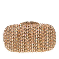Clutches/Bridal Purse/Luxury Clutches Wedding/Ceremony & Party Crystal/ Rhinestone/Pearl Magnetic Closure Charming Clutches & Evening Bags