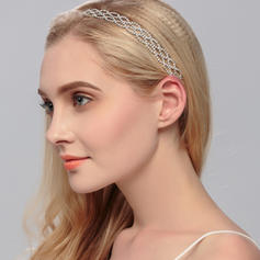 "Headbands Wedding Rhinestone/Alloy 9.84""(Approx.25cm) 0.59""(Approx.1.5cm) Headpieces"
